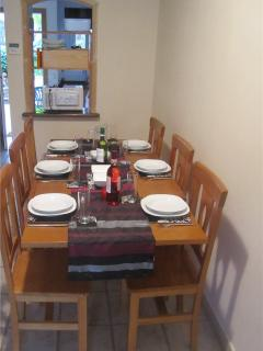 Plenty of room for 6 guests