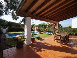 Chalet en Biniancolla con piscina, Menorca