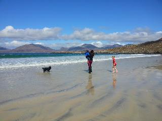 Miles of secluded sandy beaches - this is Luskentyre