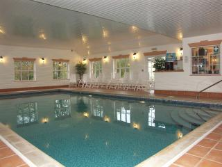 Relax  in the indoor heated pool