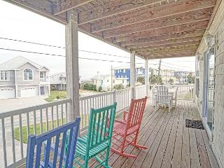 Oceanview -  Unwind and relax at this comfortable Kure Beach ocean view condo