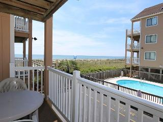 Sand Pebbles A9- Unwind and enjoy this oceanfront condo with easy beach access, Carolina Beach