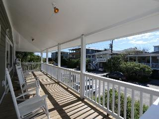 Spears- Ocean view duplex with spacious porches, a short walk to the ocean
