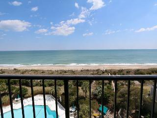 Station One - 6J OV - Oceanfront condo with community pool, tennis, beach, Wrightsville Beach