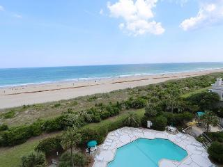 Station One-6G Pleasant-Oceanfront condo with community pool, tennis, beach, Wrightsville Beach
