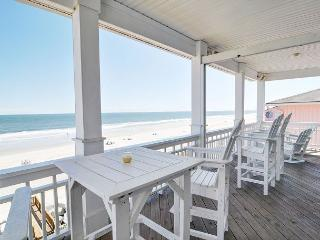 Dolphin Watch 1 -  Enjoy this spacious oceanfront duplex with panoramic views, Carolina Beach