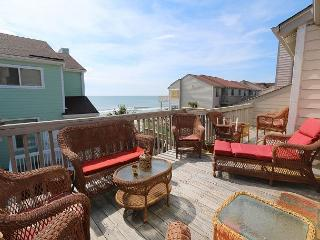 Ocean Dunes 1602 -  Secluded oceanfront condo with oversized deck and views, Kure Beach