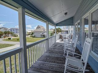 Kaitlyn's Korner -  Ocean view home close to the beach large wrap around decks, Kure Beach