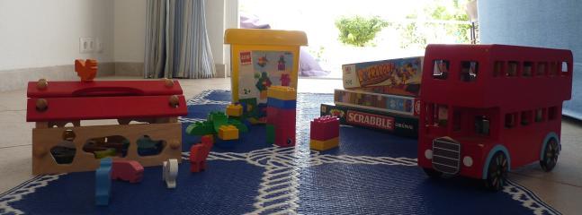 Plenty of toys for little ones...