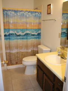 Full bath with stand up shower
