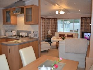 Kitchen and Dinning Area leading to the lounge .