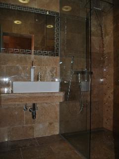 Luxury villa with pool near Omis - bathroom