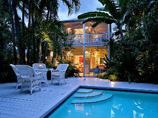 Villa Tropicale: A lush, secluded estate in the Casa Marina District, Key West
