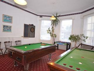 Games room with pool table,billiards table,football table and darts
