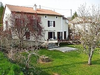 View of the house in early Spring