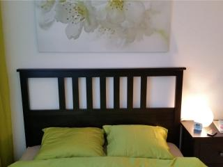 Max Aviation Apartments Queensize bedroom, Berna