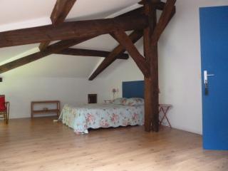 La Palombiere chambre bleue