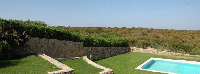Uno scorcio di giardino e piscina (5mx12m)