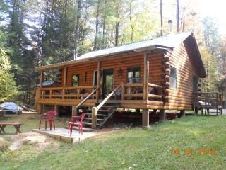 Riverside cabin in the Adirondack Mountains, Harrisville