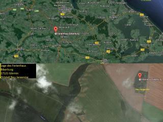 Lage des Hauses (auf der tripadvisor-Karte nicht ganz korrekt)