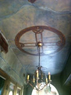 Ceiling art work