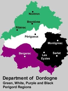 The Dordogne region of South West France