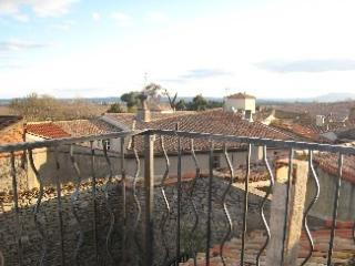 VILLAGE HOUSE SOUTH OF FRANCE, VIEWS OVER PYRENEES