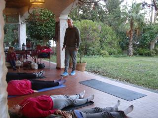 yoga afternoon sesion