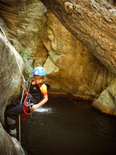 canyoning with professional guides available