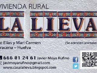 Casa Rural LA LIEVA, Aracena