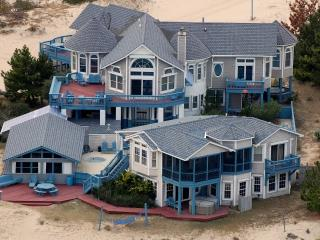 Sunnybank, Oceanfront 6 bedroom estate on 3 acres with 3 buildings,elevator,etc.