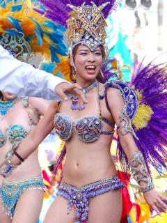 Asakusa samba festival 3min walk.