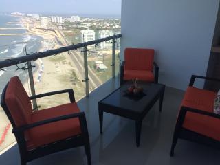 Stellar Ocean View Cartagena Condo 22nd floor