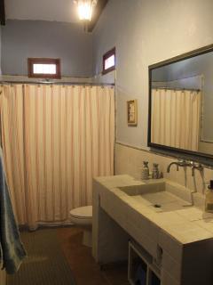 On suite -master full bathroom.
