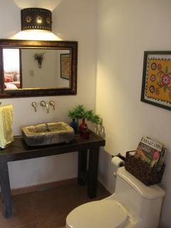 Great room -on suite 1/2 bathroom.