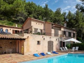 Spacious villa with swimming pool, Carqueiranne