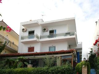 Sokrates Apartments In Chrani on the beach
