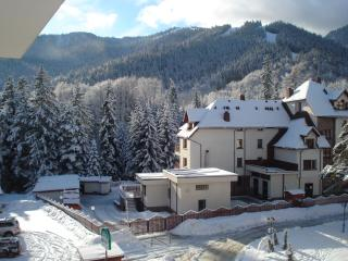 On-piste Mountain Spa apartment Rila Park A44, Borovets