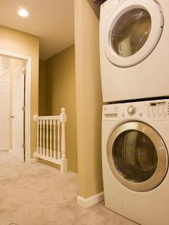 1st Wash & Dryer upper level