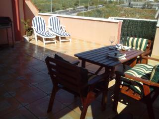GOLD APARTMENT full 2 bedroom, big private terrace, free WIFI, Satellite TV
