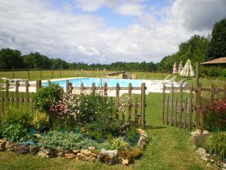 Pool and its garden
