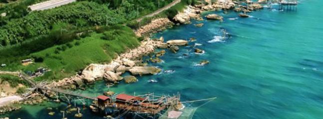Beautiful costa dei Trabocchi