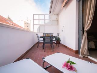 Panaderos apartment with terrace, Málaga