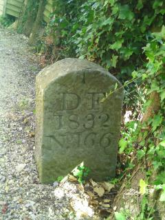 We are on the very edge of the forest. There is a 1832 boundary marker in our garden.