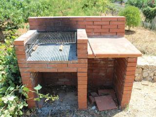 Barbecue nel piazzale antistante la casa