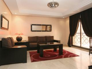 Guest Friendly Flat in Gueliz, City Center Marrakech, WIFI 2P