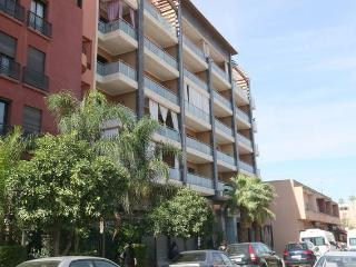 Guest Friendly Flat in Gueliz, City Center Marrakech, WIFI 2P