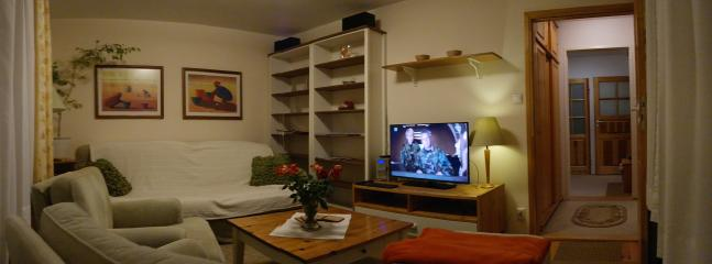 First floor apartment with a balcony, holiday rental in Zukowo