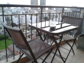 Modern apart. w/ balcony club house near Larcomar, Lima
