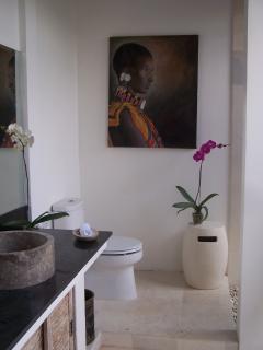 bathroom - villa in bali canggu area - near the beach